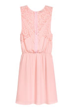 Sleeveless dress - Powder pink - Ladies | H&M 2