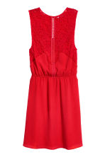 Sleeveless dress - Red -  | H&M CN 2