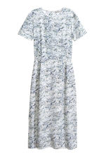 Patterned silk dress - White/Patterned - Ladies | H&M 2