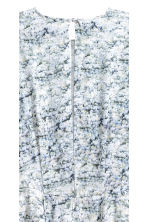 Patterned silk dress - White/Patterned - Ladies | H&M 3