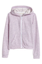 連帽外套 - Light purple marl -  | H&M 1