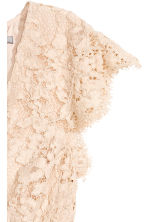 Lace dress - Light beige - Ladies | H&M CN 3