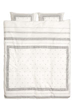 Set copripiumino in cotone - Bianco/fantasia - HOME | H&M IT 2