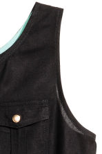 Sleeveless  playsuit - Black -  | H&M 2