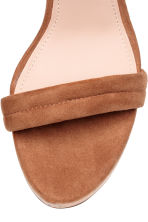 Wedge-heel sandals - Light brown - Ladies | H&M CN 3