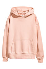 Oversized hooded top - Pink - Ladies | H&M 2