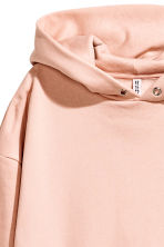 Oversized hooded top - Pink - Ladies | H&M 3