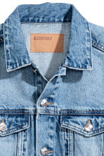 Denim jacket - Light denim blue - Ladies | H&M CN 4