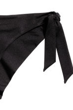 Mini tie tanga bikini bottoms - Black - Ladies | H&M 3