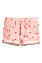 Short court en twill - Rose/cerise - ENFANT | H&M FR 2
