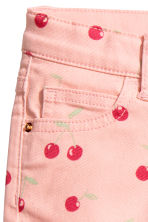 Short court en twill - Rose/cerise - ENFANT | H&M FR 5
