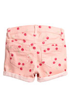 Short court en twill - Rose/cerise - ENFANT | H&M FR 3