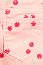 Short court en twill - Rose/cerise - ENFANT | H&M FR 4