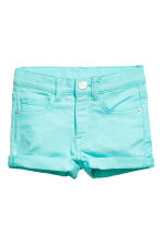 Shorts corti in twill - Turchese -  | H&M IT 2