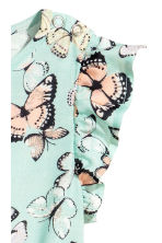 Patterned jumpsuit - Mint/Butterflies - Kids | H&M CN 3