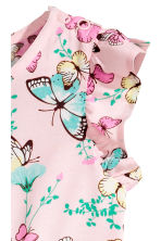 印花連身褲裝 - Light pink/Butterflies - Kids | H&M 3