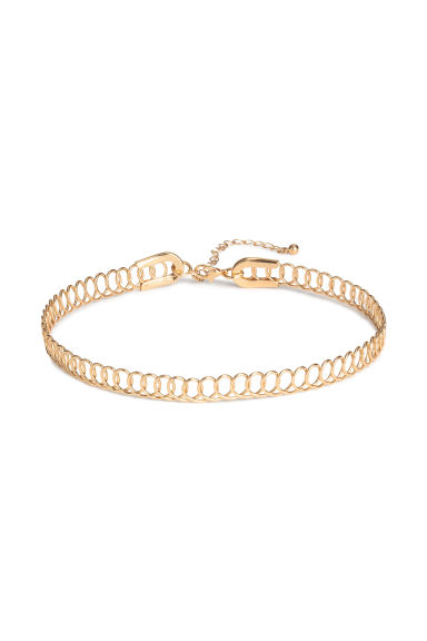 Choker in filo metallico - Dorato - DONNA | H&M IT 1