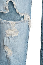 Slim High Cropped Jeans - Denim blue - Ladies | H&M CN 4