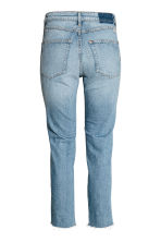 Slim High Cropped Jeans - Denim blue - Ladies | H&M CN 3