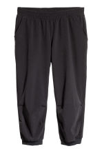 3/4-length sports trousers - Black - Ladies | H&M 2