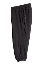 3/4-length sports trousers - Black - Ladies | H&M 3