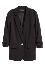 Long jacket - Black -  | H&M 2