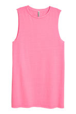 Sleeveless jersey dress - Pink - Ladies | H&M 2