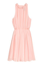 Chiffon dress - Light pink -  | H&M CN 2