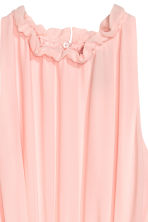 Chiffon dress - Light pink -  | H&M CN 3