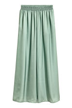Wide trousers - Dusky green -  | H&M 2