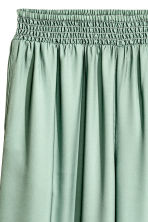 Wide trousers - Dusky green -  | H&M 3