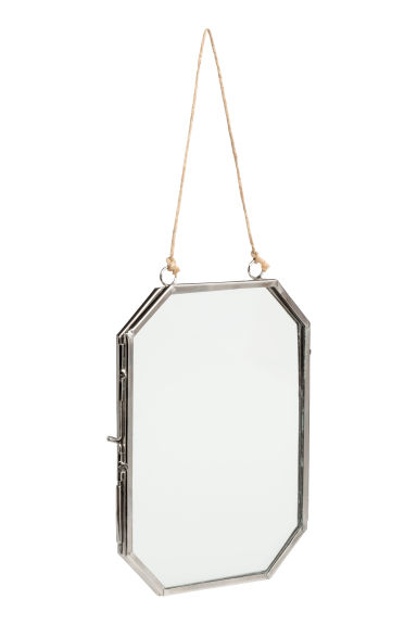 Metal frame - Silver - Home All | H&M CN 1