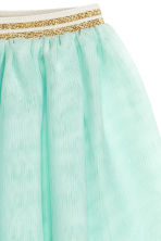 Tulle skirt - Mint green -  | H&M 3