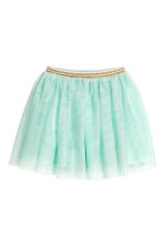 Tulle skirt - Mint green -  | H&M CN 2