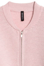 Glittery cardigan - Light pink - Ladies | H&M CN 3