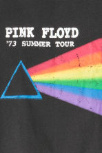 Short T-shirt - Black/Pink Floyd - Ladies | H&M 3