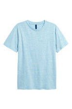 Jersey T-shirt - Light blue marl - Men | H&M 2
