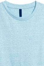 Jersey T-shirt - Light blue marl - Men | H&M 3