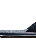 Flip-flops - Dark blue/Chambray - Men | H&M 4