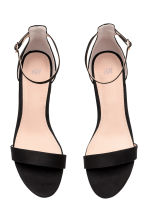 Ankle-strap sandals - Black - Ladies | H&M CN 3