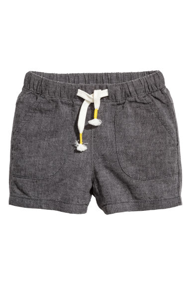 Pull on-shorts - Mörkgrå -  | H&M FI