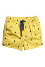 Cotton shorts - Yellow - Kids | H&M 1