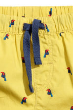 Cotton shorts - Yellow - Kids | H&M 2