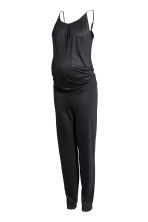 MAMA Jersey jumpsuit - Black - Ladies | H&M 2