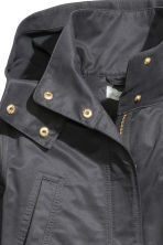 Hooded parka - Black -  | H&M IE 3
