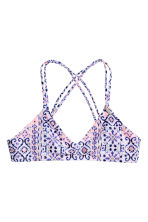 Patterned bikini - Light pink - Kids | H&M 2