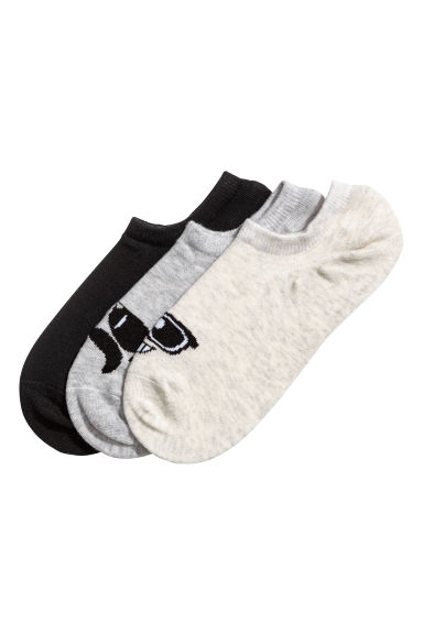 3-pack trainer socks - Grey - Kids | H&M