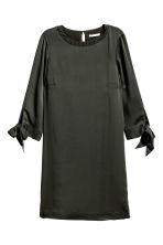 Knee-length dress - Dark Khaki - Ladies | H&M 2