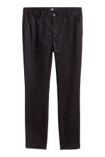 Cotton chinos Slim fit - Black - Men | H&M 2