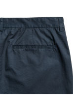 Cotton chinos Slim fit - Dark blue - Men | H&M CN 3